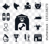 set of 13 simple editable icons ... | Shutterstock .eps vector #1151138273