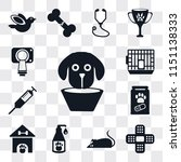 set of 13 simple editable icons ... | Shutterstock .eps vector #1151138333
