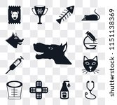 set of 13 simple editable icons ... | Shutterstock .eps vector #1151138369