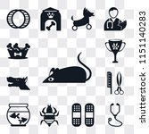set of 13 simple editable icons ... | Shutterstock .eps vector #1151140283