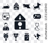 set of 13 simple editable icons ... | Shutterstock .eps vector #1151140343