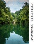 scenery around lake jocasse... | Shutterstock . vector #1151161160