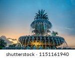 chaleston south carolina park... | Shutterstock . vector #1151161940