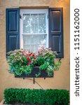 rainbow row street in... | Shutterstock . vector #1151162000