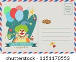 happy birthday vector greeting... | Shutterstock .eps vector #1151170553