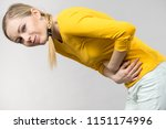 painful periods and menstrual... | Shutterstock . vector #1151174996