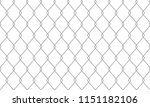 chain link fence seamless... | Shutterstock .eps vector #1151182106