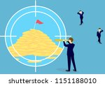searching for opportunity.... | Shutterstock .eps vector #1151188010