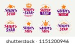 super star label. popularity ...   Shutterstock .eps vector #1151200946