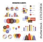 business data visualisation...   Shutterstock .eps vector #1151210816