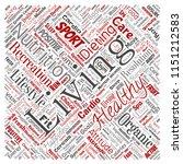 vector conceptual healthy... | Shutterstock .eps vector #1151212583