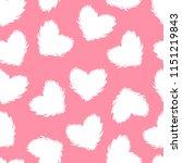 Vector White Fluffy Heart...