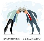 vector illustration of a two... | Shutterstock .eps vector #1151246390