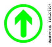 green arrow icon for your text. ...