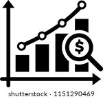 financial analysis icon | Shutterstock .eps vector #1151290469