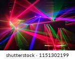 light from concert in music hall | Shutterstock . vector #1151302199