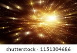 abstract gold background.... | Shutterstock . vector #1151304686