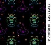 abstract rainbow happy... | Shutterstock .eps vector #1151311583