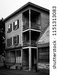 old houses in salem ... | Shutterstock . vector #1151313083