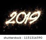 2019. happy new year | Shutterstock . vector #1151316590