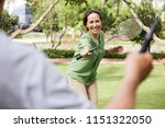 pretty mature asian woman... | Shutterstock . vector #1151322050