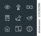 modern flat simple vector icon... | Shutterstock .eps vector #1151332586
