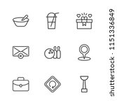 modern simple vector icon set.... | Shutterstock .eps vector #1151336849