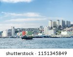 scenic view of busan in south...   Shutterstock . vector #1151345849