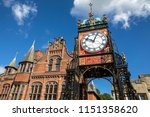 the famous eastgate clock ... | Shutterstock . vector #1151358620