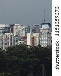 obelisk of s o paulo  in... | Shutterstock . vector #1151359373