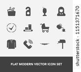 modern  simple vector icon set... | Shutterstock .eps vector #1151371670
