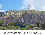 hollywood california   march 25 ... | Shutterstock . vector #1151376539