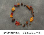 autumn colourful leaves ... | Shutterstock . vector #1151376746