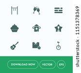 modern  simple vector icon set... | Shutterstock .eps vector #1151378369