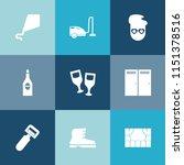 modern  simple vector icon set... | Shutterstock .eps vector #1151378516