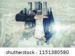 innovation concept   surreal... | Shutterstock . vector #1151380580