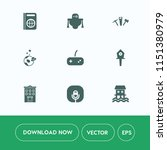 modern  simple vector icon set... | Shutterstock .eps vector #1151380979