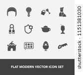 modern  simple vector icon set...   Shutterstock .eps vector #1151381030