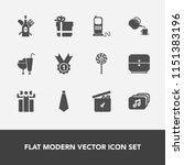 modern  simple vector icon set... | Shutterstock .eps vector #1151383196