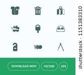 modern  simple vector icon set... | Shutterstock .eps vector #1151383310
