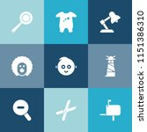 modern  simple vector icon set... | Shutterstock .eps vector #1151386310