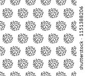 seamless vector pattern with... | Shutterstock .eps vector #1151388206