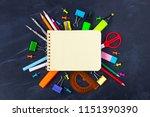 back to school concept. school...   Shutterstock . vector #1151390390