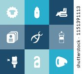 modern  simple vector icon set... | Shutterstock .eps vector #1151391113