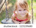 Portrait Of A Happy Little Gir...