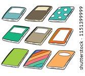 vector set of notebooks | Shutterstock .eps vector #1151399999