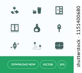 modern  simple vector icon set... | Shutterstock .eps vector #1151400680