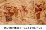ancestral puebloan or anasazi...   Shutterstock . vector #1151407403