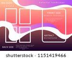 modern brochure. vectror... | Shutterstock .eps vector #1151419466