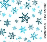 snowflake seamless pattern.... | Shutterstock .eps vector #1151420600